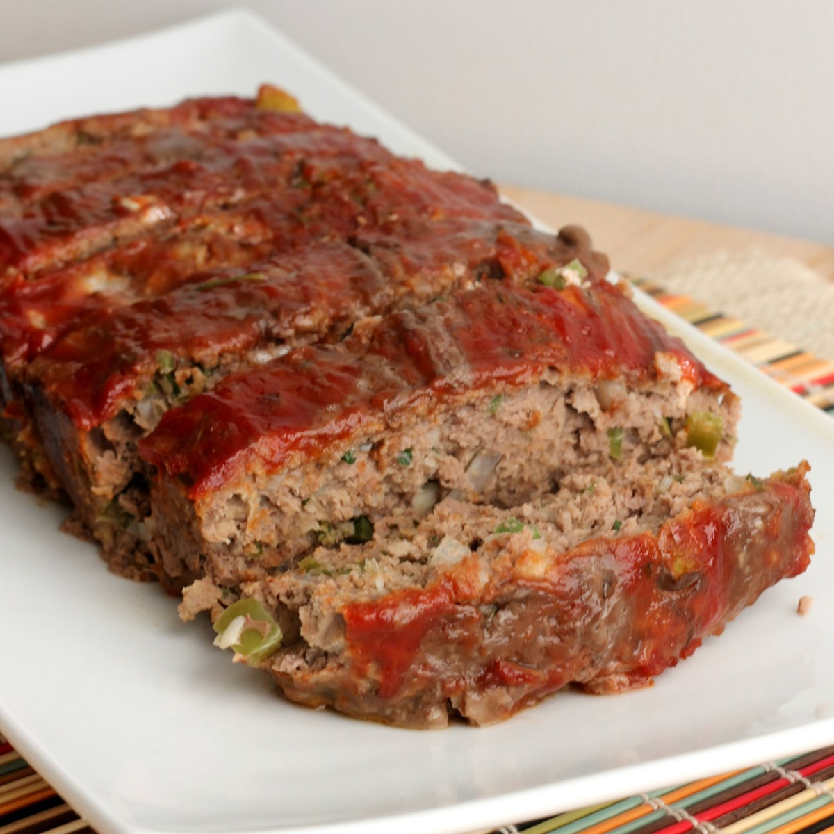 This is simply the best meatloaf you'll ever try.