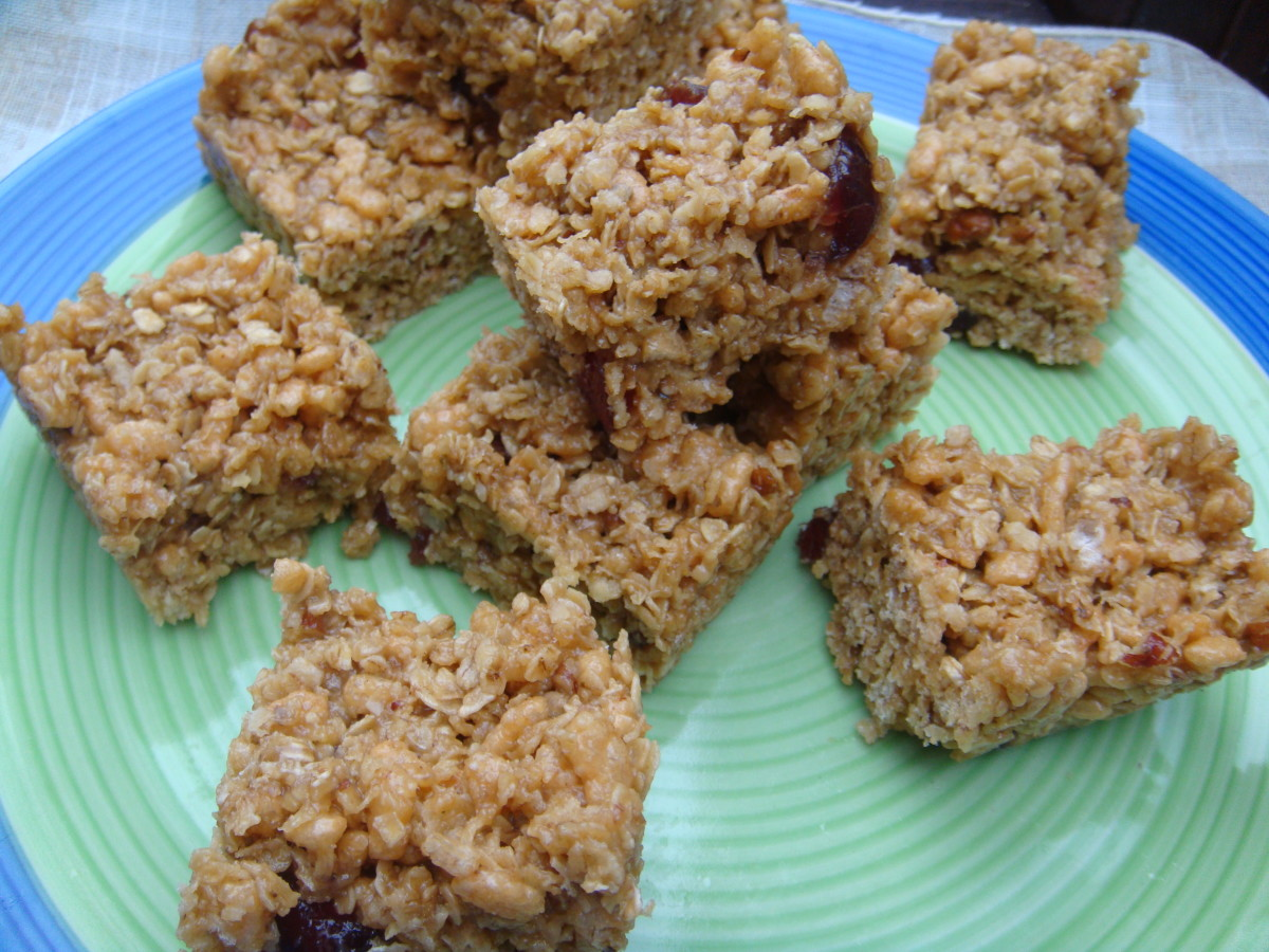 No-Bake Syrup Flapjacks