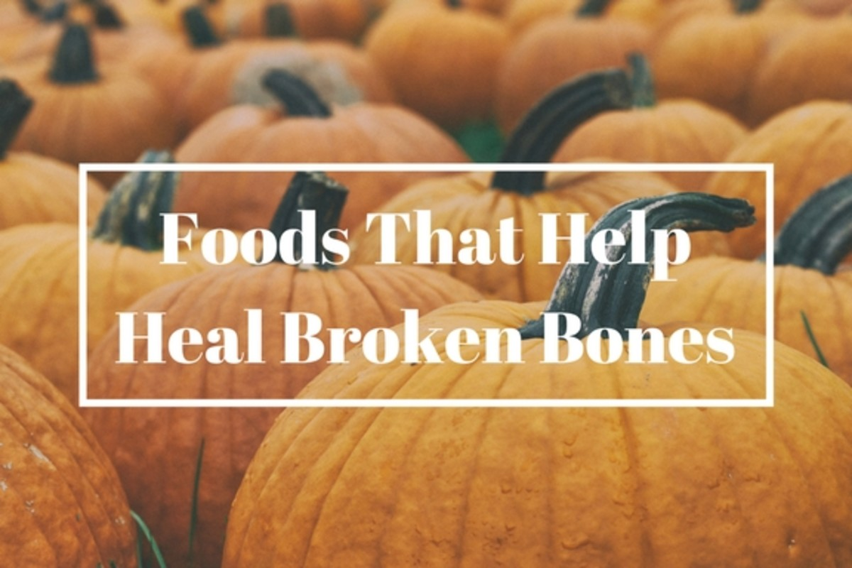 Foods That Help Broken Bones Heal