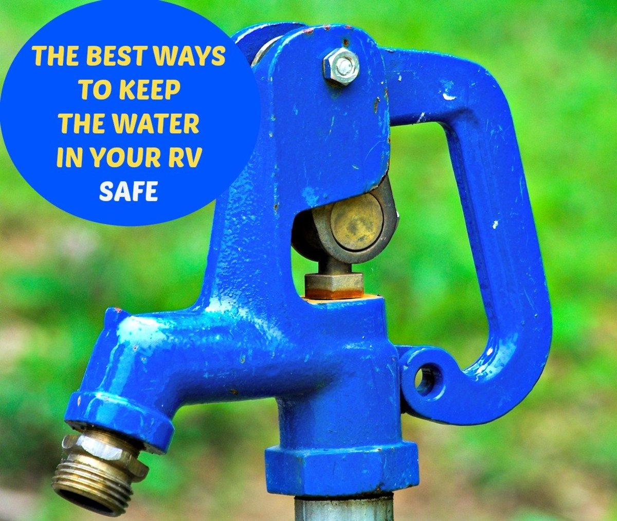 Following safety guidelines and using common sense will help to keep your RV water safe to use and drink.