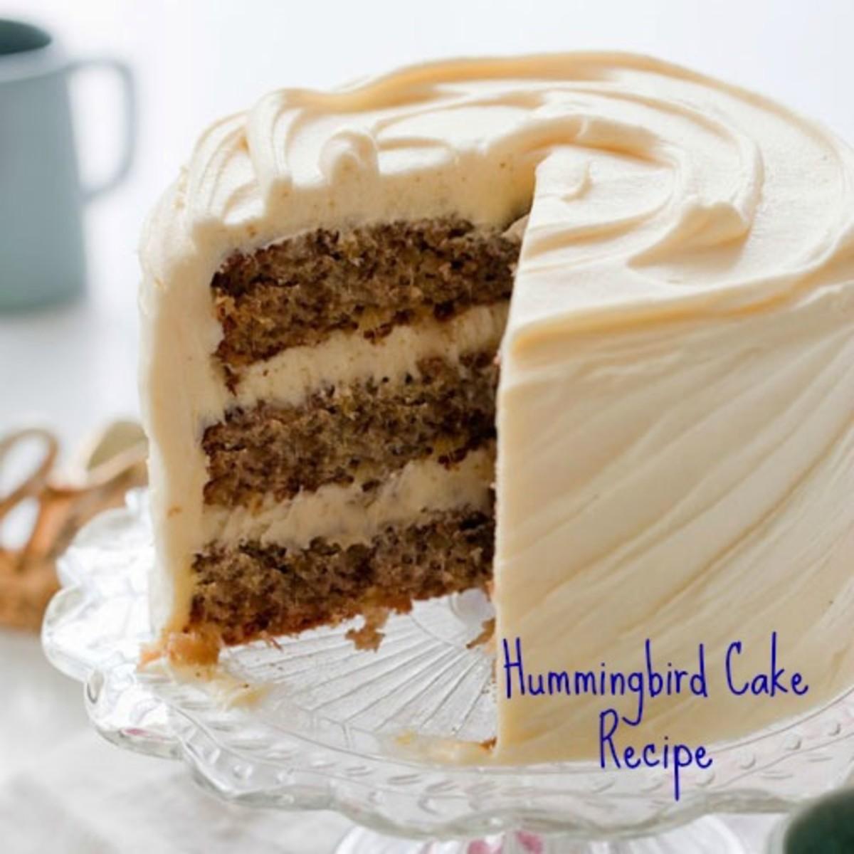 Hummingbird Cake Recipe - a Favorite Southern Dessert