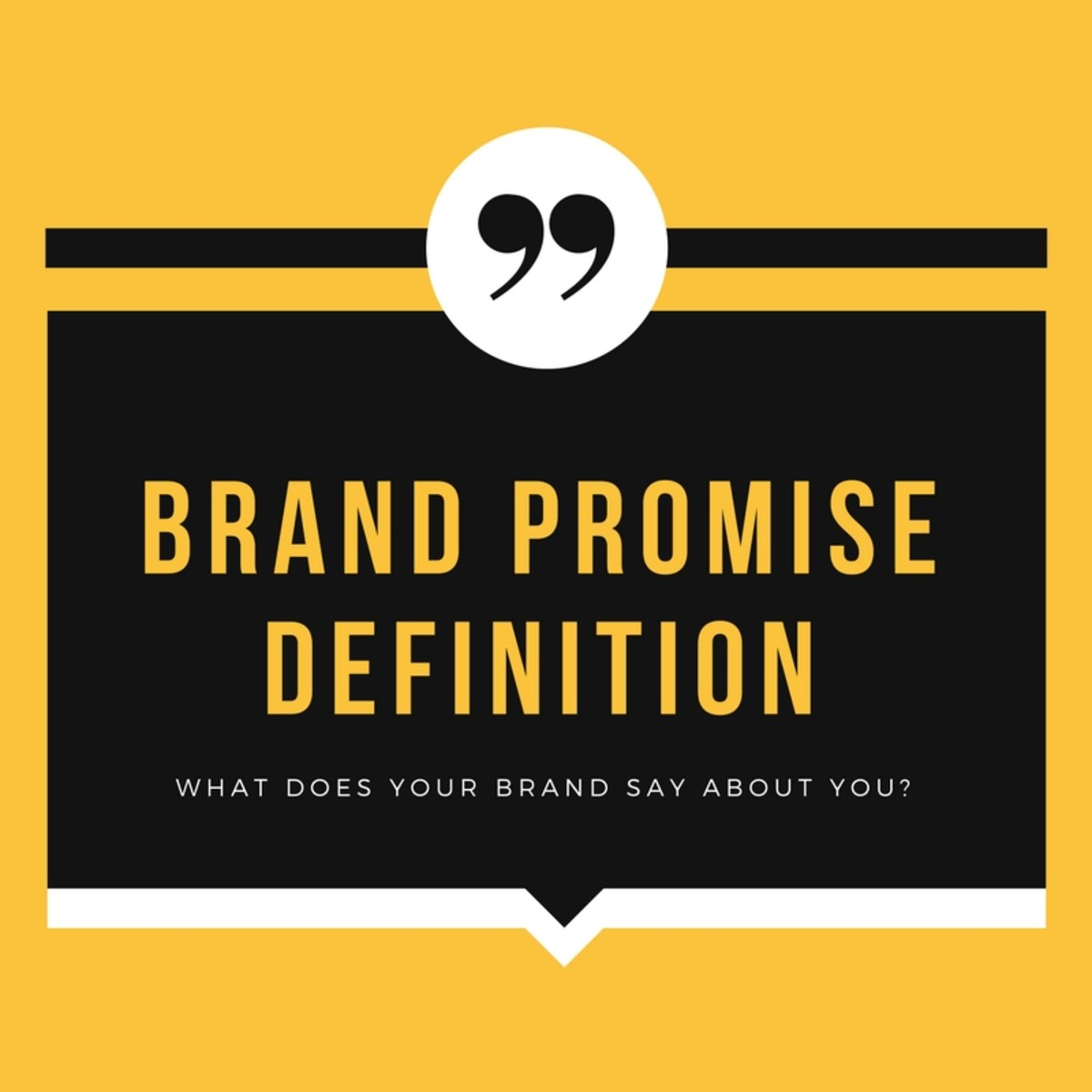 Brand Promise Definition