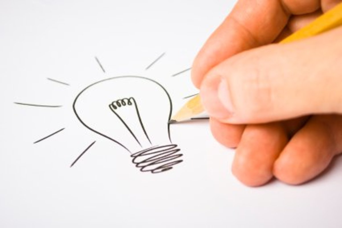 We All Have Great Ideas, But Some People Do More Than Imagine!