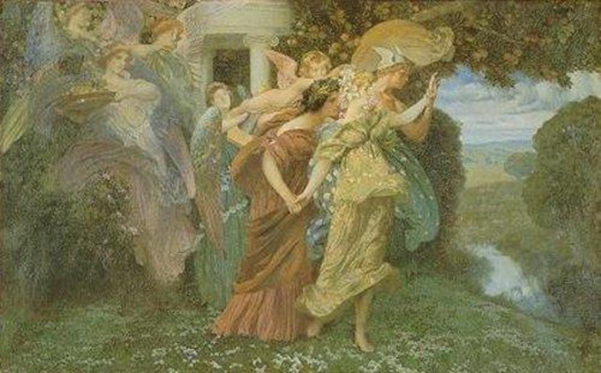 Oates may have drawn on the Persephone myth for her short story.