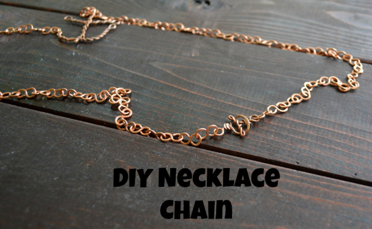 Diy Easy Necklace Jewelry Chain Feltmagnet