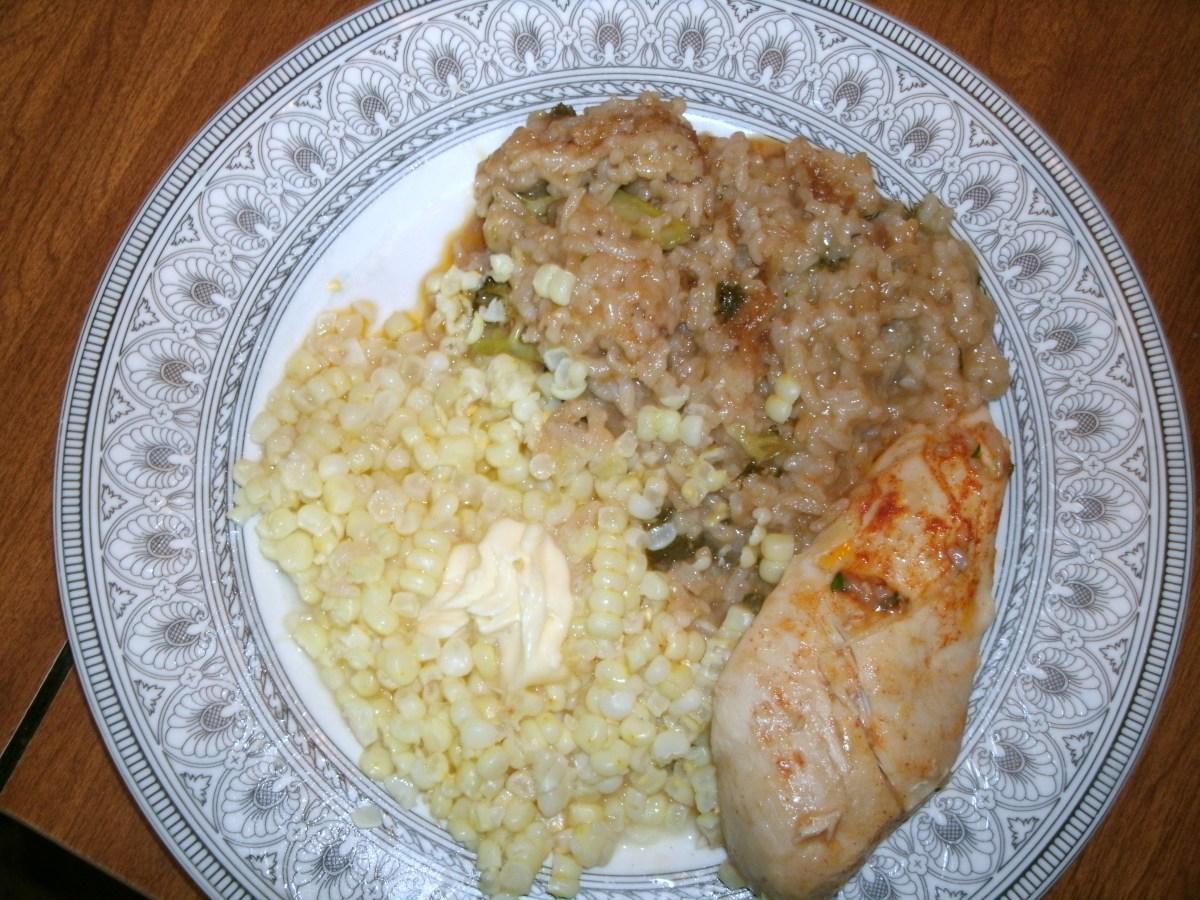 Delicious, Easy Chicken and Rice Casserole