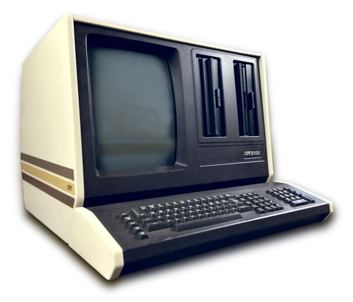 Word Processor Desktop Microcomputer