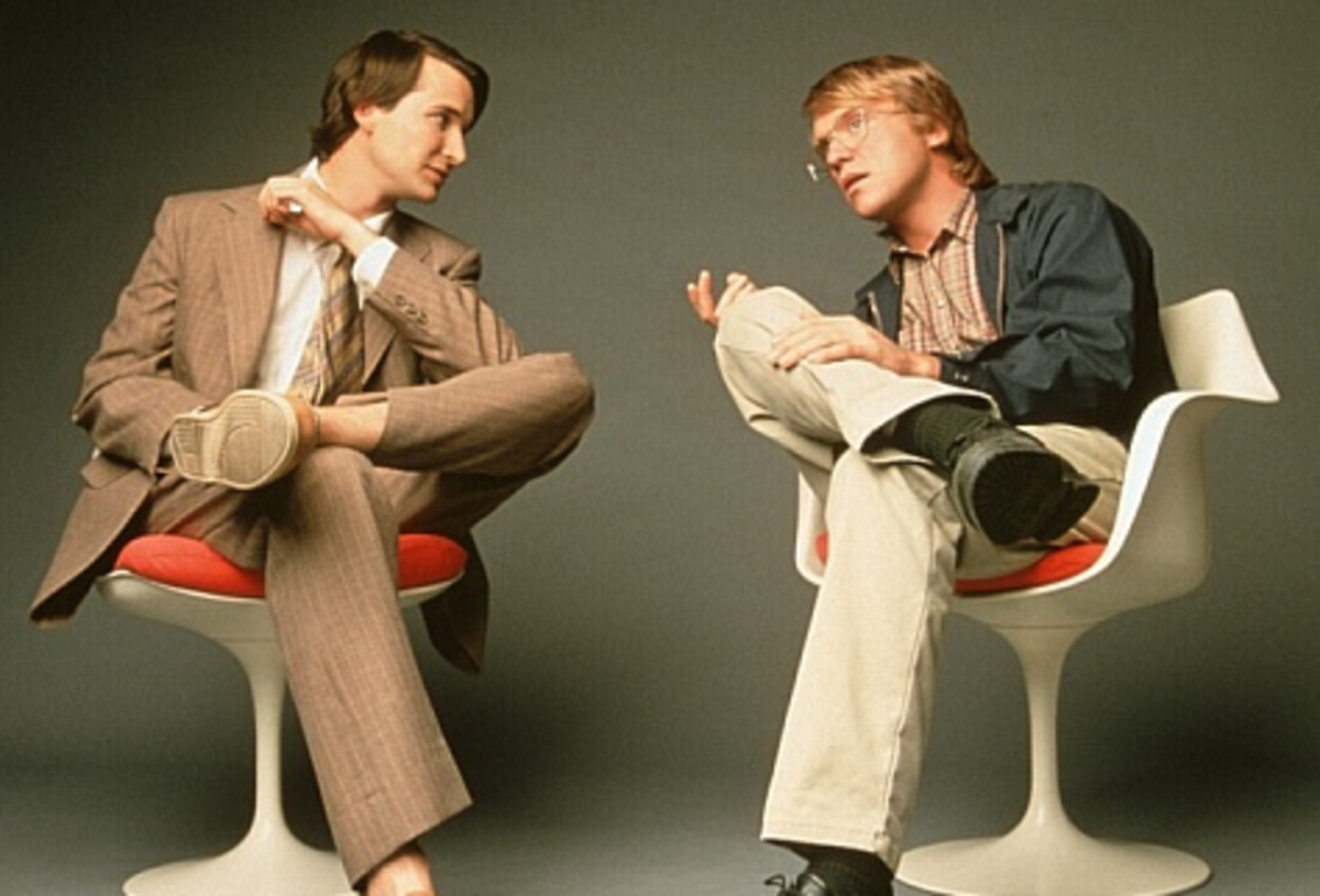 Steve Jobs (Noah Wyle) and Bill Gates (Anthony Michael Hall) © TNT