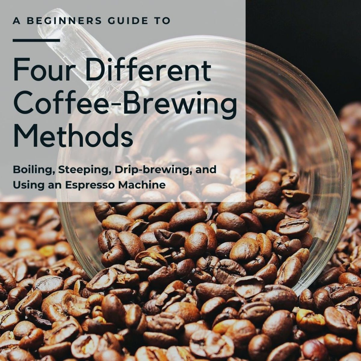 A Guide to Four of the Most Types of Coffee Brewing Methods