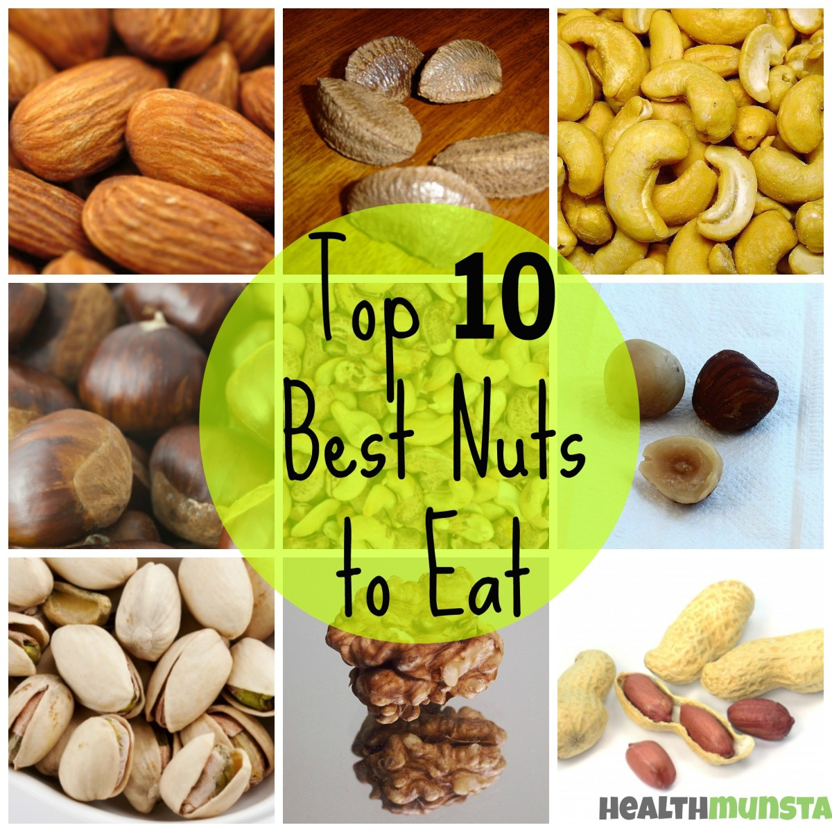 Top 10 Best Nuts for Good Health