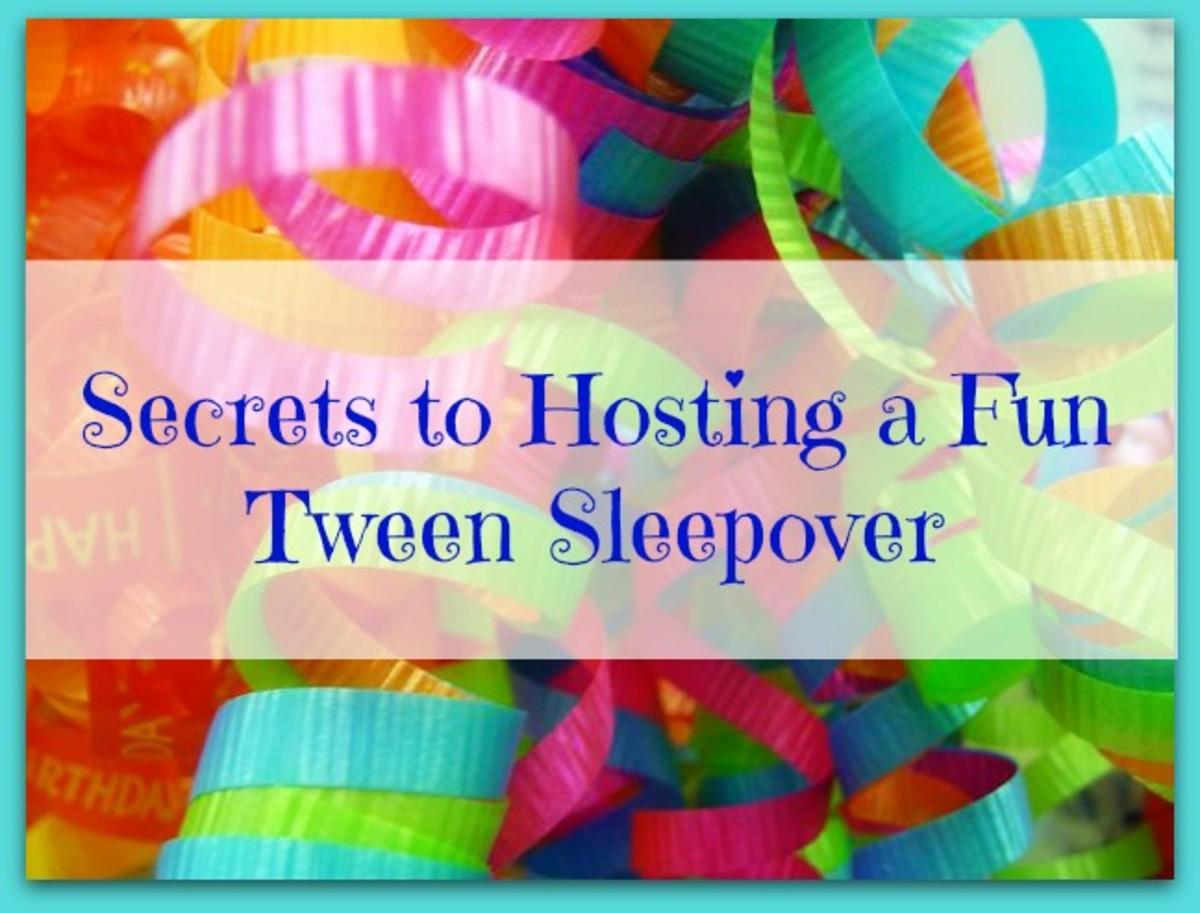 Host a fun tween sleep over