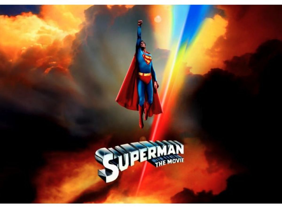 Superman The Move Poster