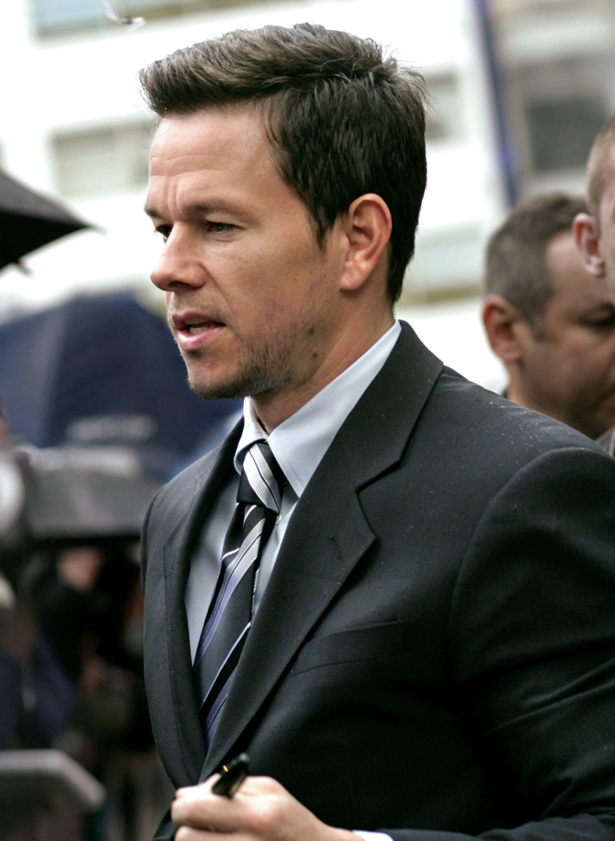 Mark Wahlberg, star of Boogie Nights, Planet of the Apes, and Pain and Gain and former pop music singer for Marky Mark and the Funky Bunch.
