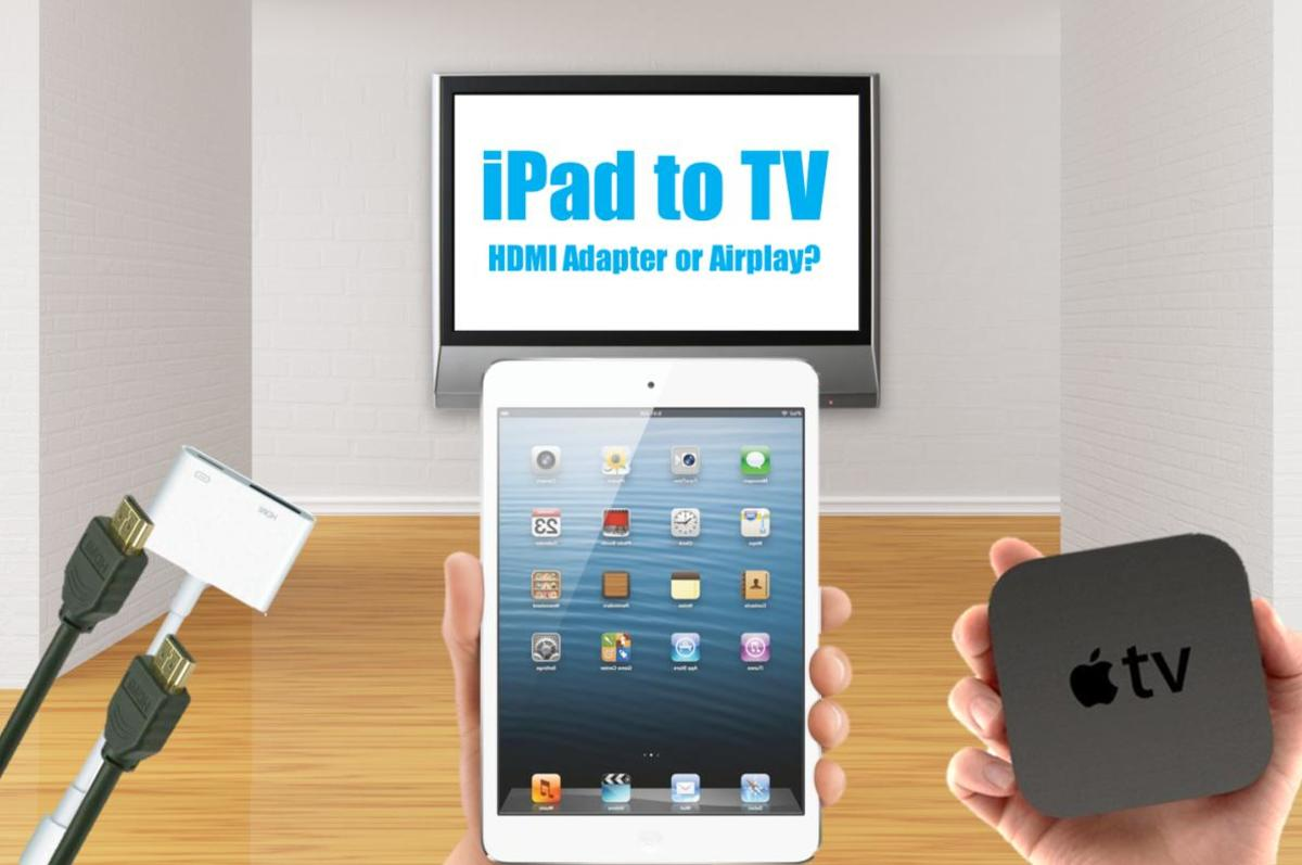 How to Connect an iPad to TV With HDMI or Wireless Airplay ...