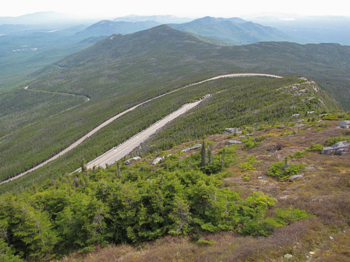 Driving the Veterans Memorial Highway to the Top of Whiteface Mountain