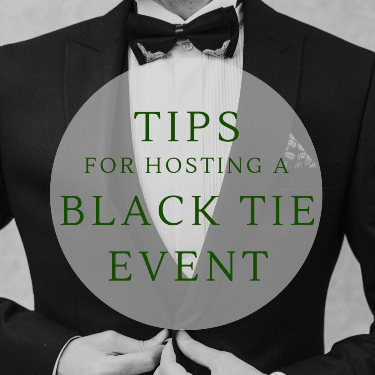hosting-a-black-tie-event