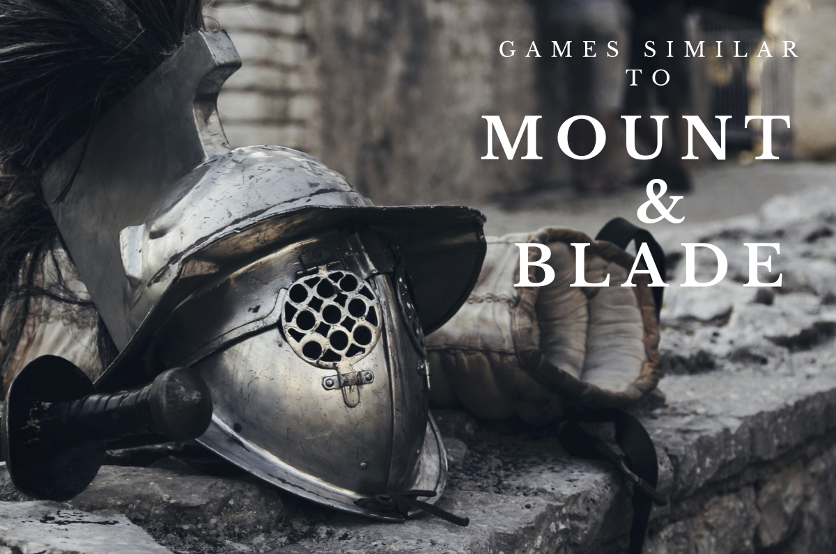 Mount & Blade has an intricate medieval world and an excellent combat system to help you fight your way through it.