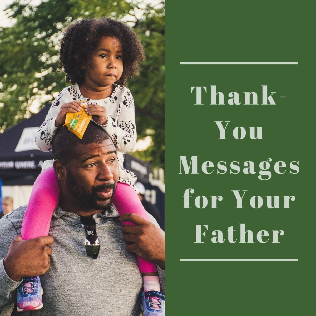 Do you want to thank your father for being an awesome dad? Read on to find inspiring poems and messages to write in a thank-you card for any occasion.