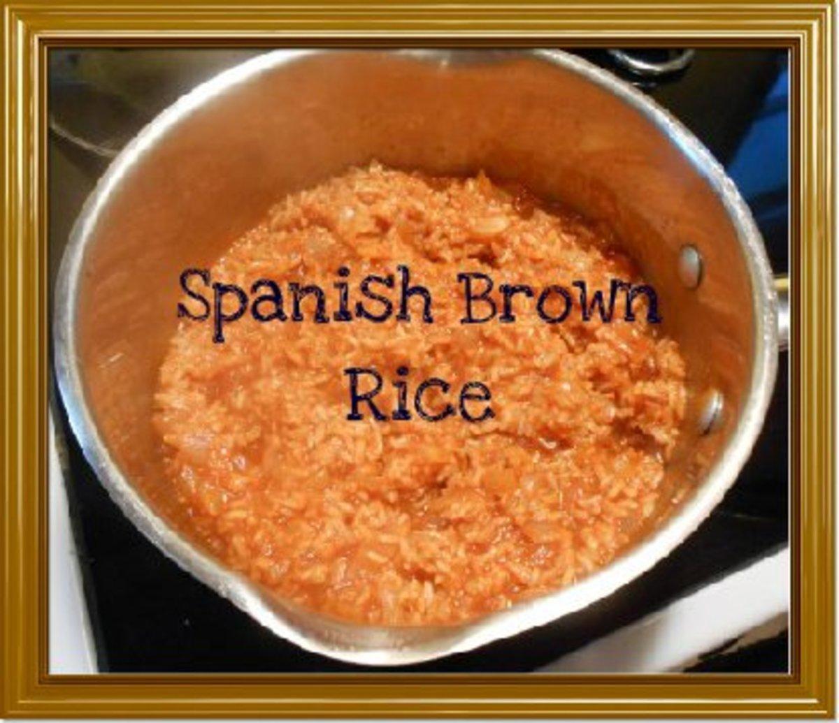 ... rice bake baked brown spanish rice spanish rice casserole spanish rice