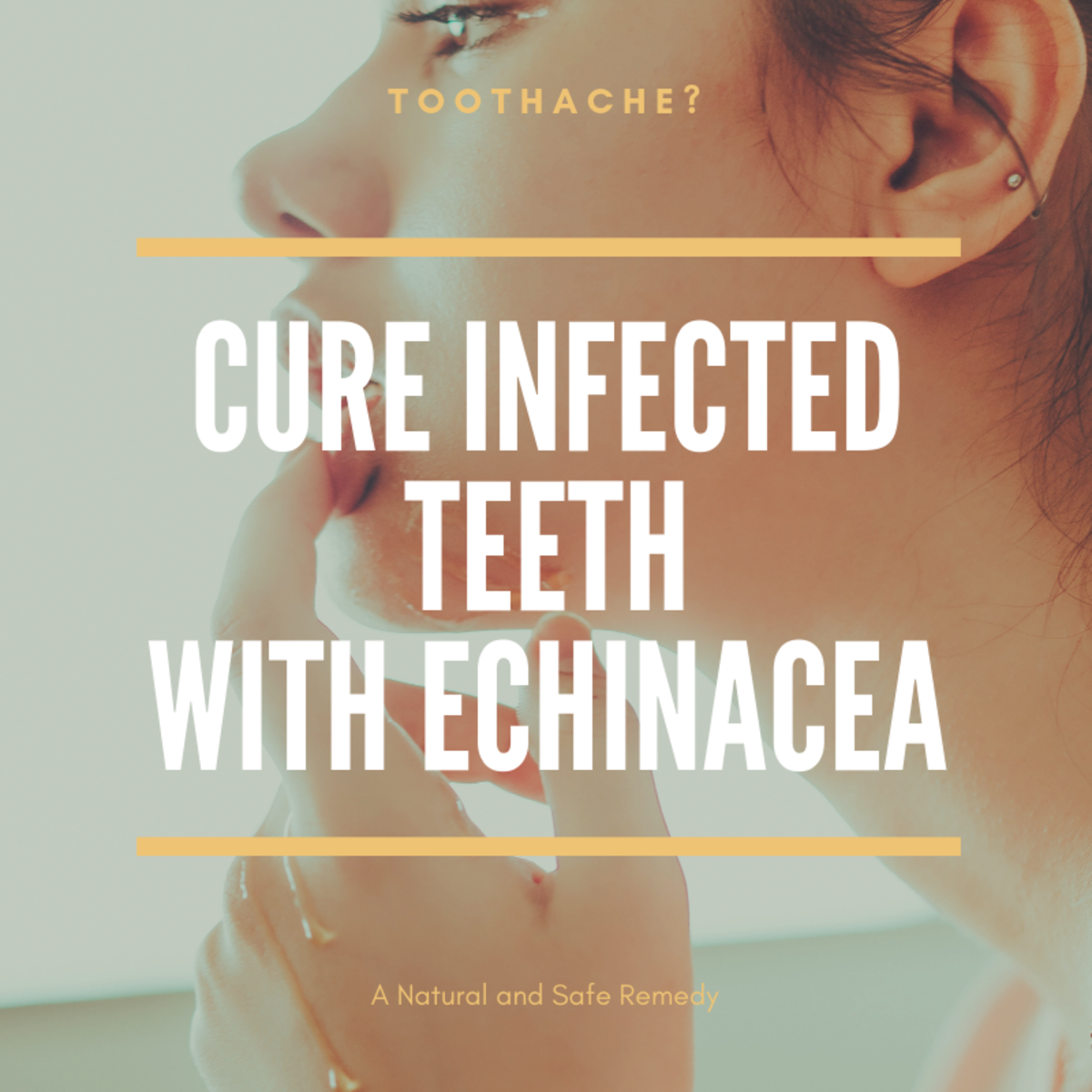 How to Cure a Toothache With Echinacea