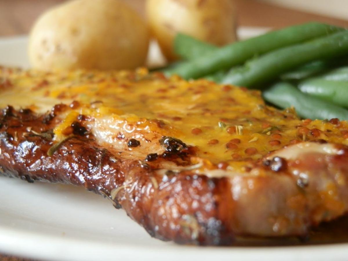 Honey Mustard Pork Chops Recipe - Delicious, Quick and ...