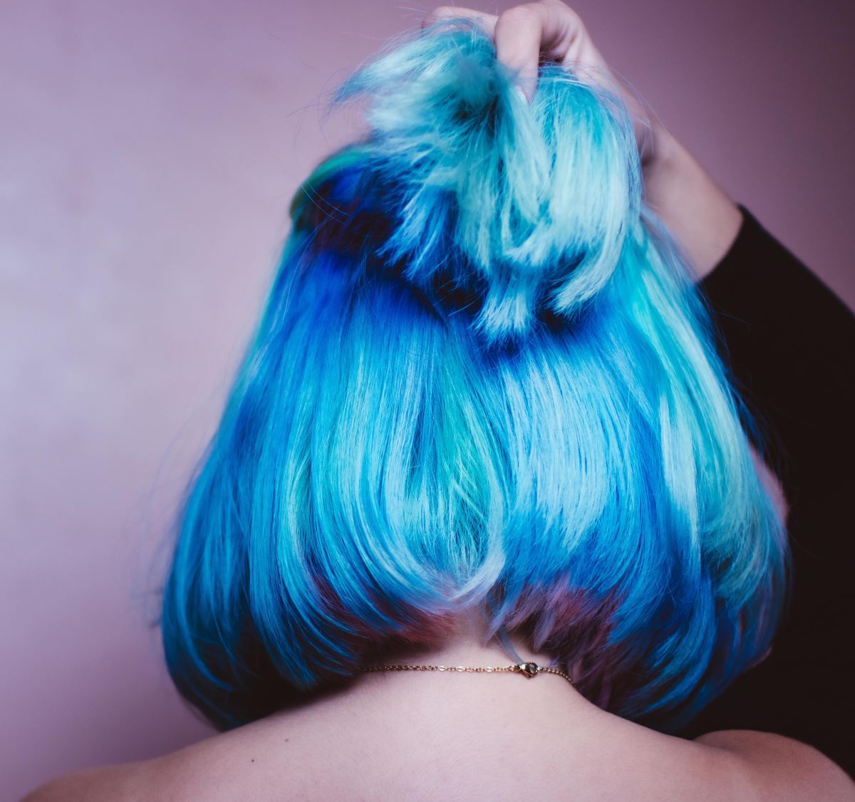 Thinking of dying your hair using the Kool-Aid method? The possibilities are endless. Consider dying your whole head, just the ends, or creating a rainbow effect.