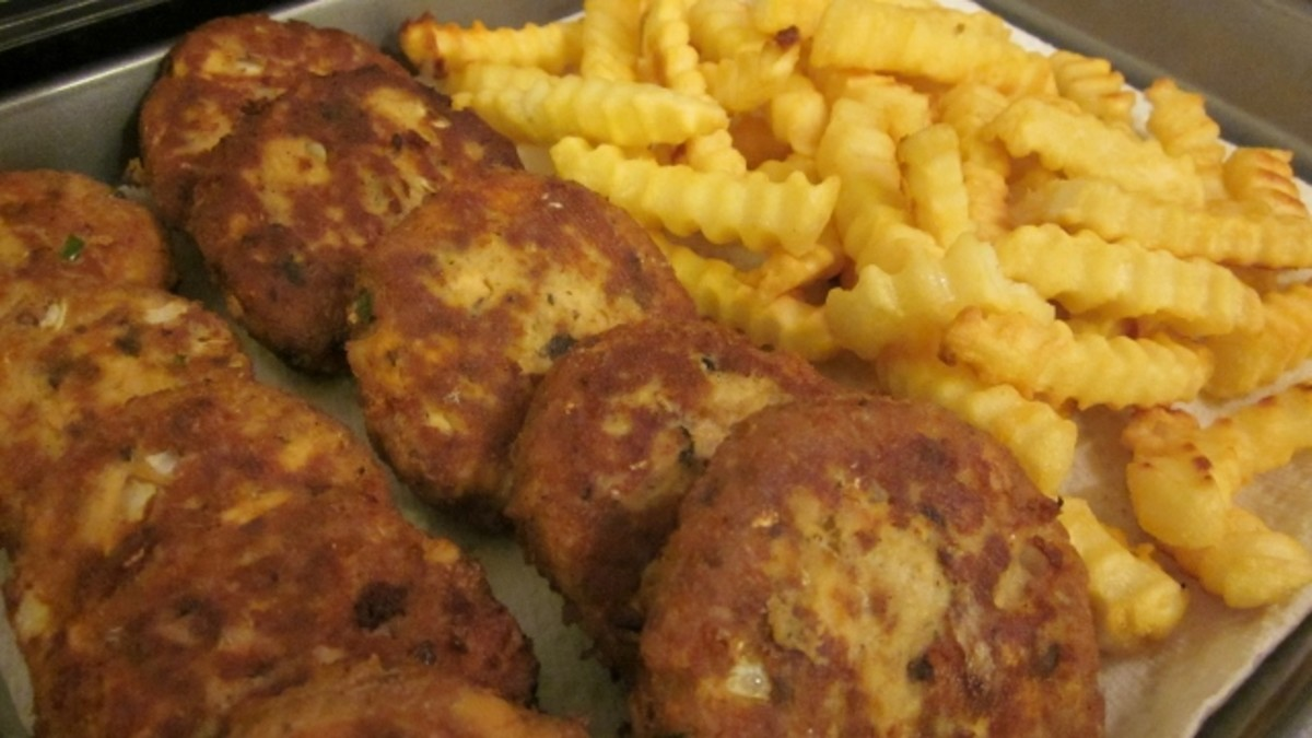 How to Make Easy Salmon Patties for Low Budget Healthy Seafood Dinner