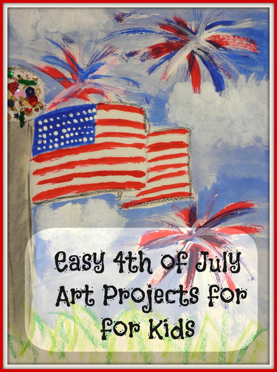 Art Projects and Lessons for Fourth of July Crafts