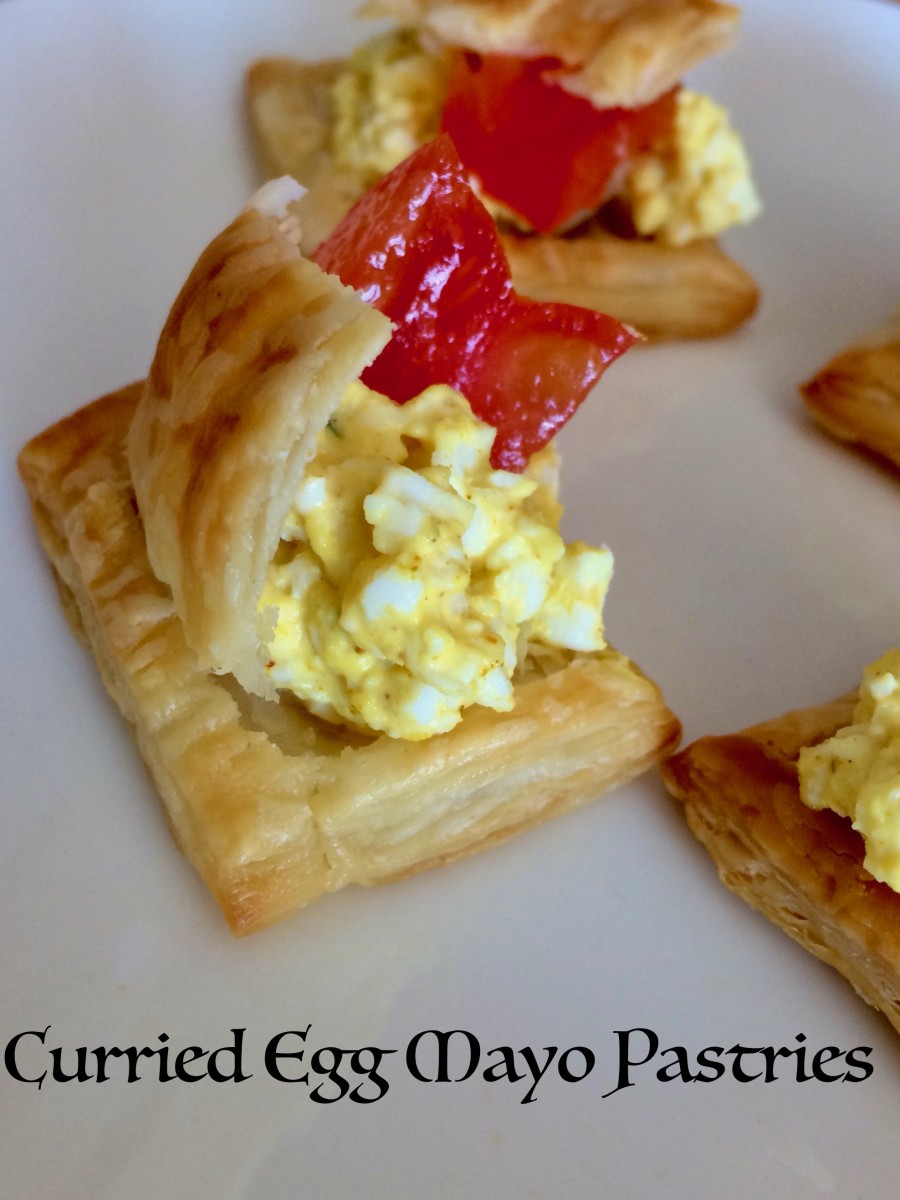 Quick and Easy Mini Puff Pastry Tarts With Four Variations