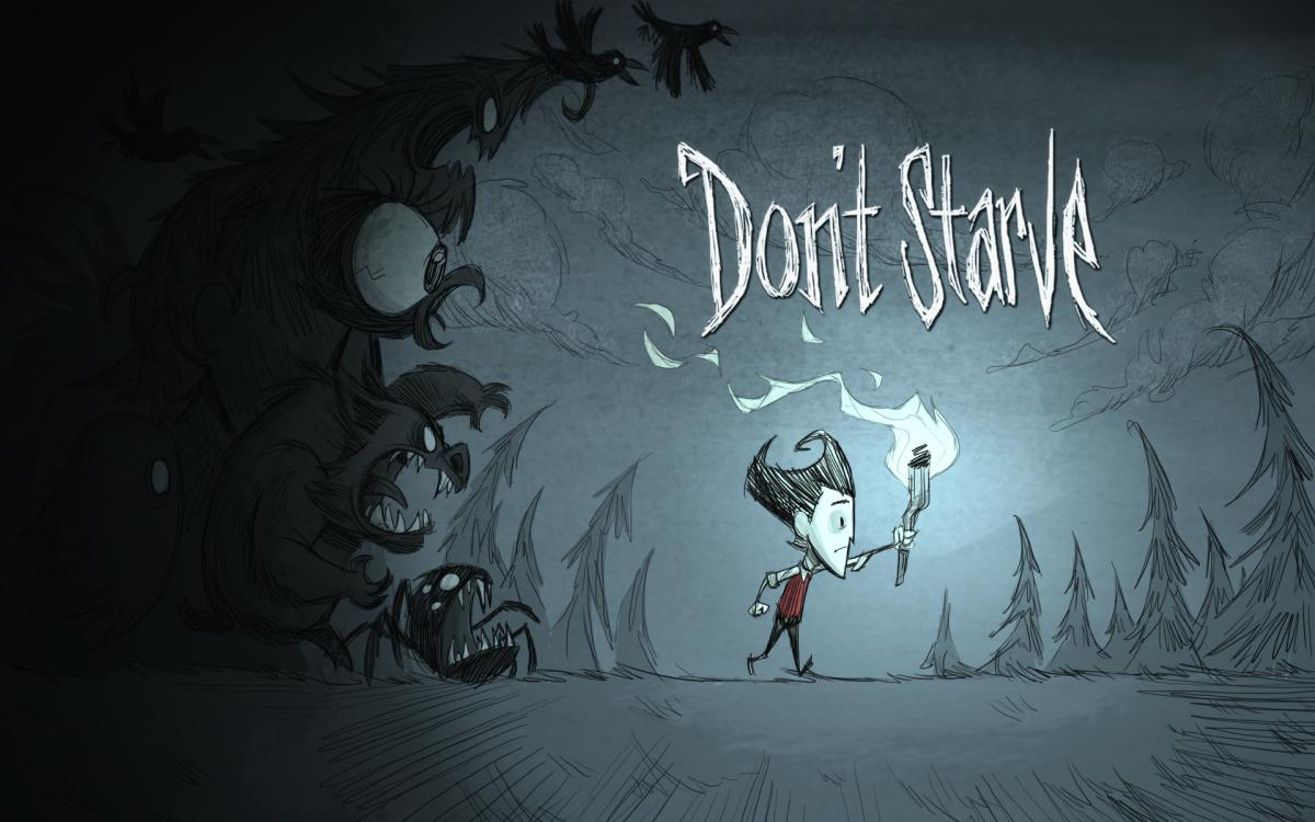 """Don't Starve"" Cover Art"