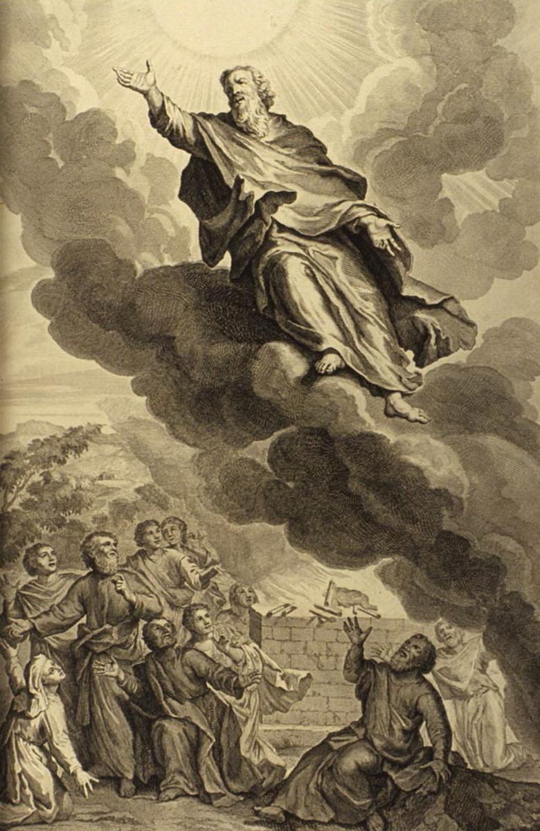 Enoch walked right into heaven.