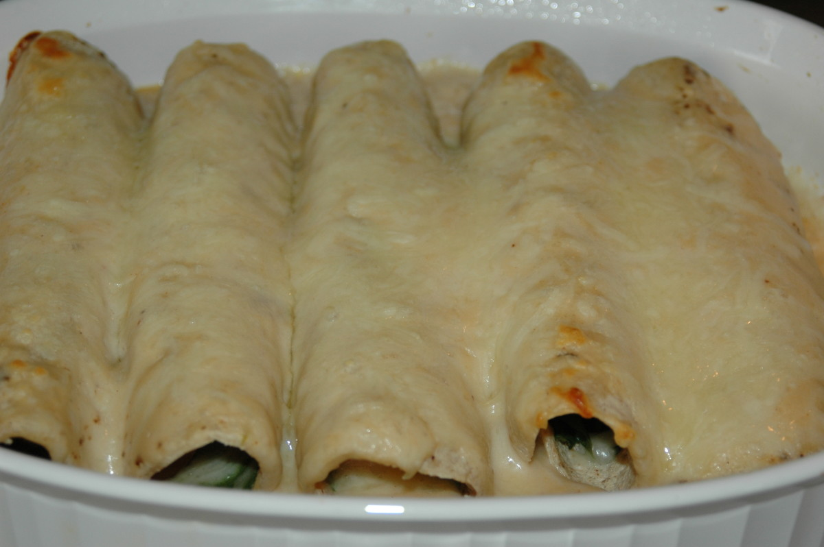 Great Enchilada Recipe: Shrimp And Spinach Enchiladas