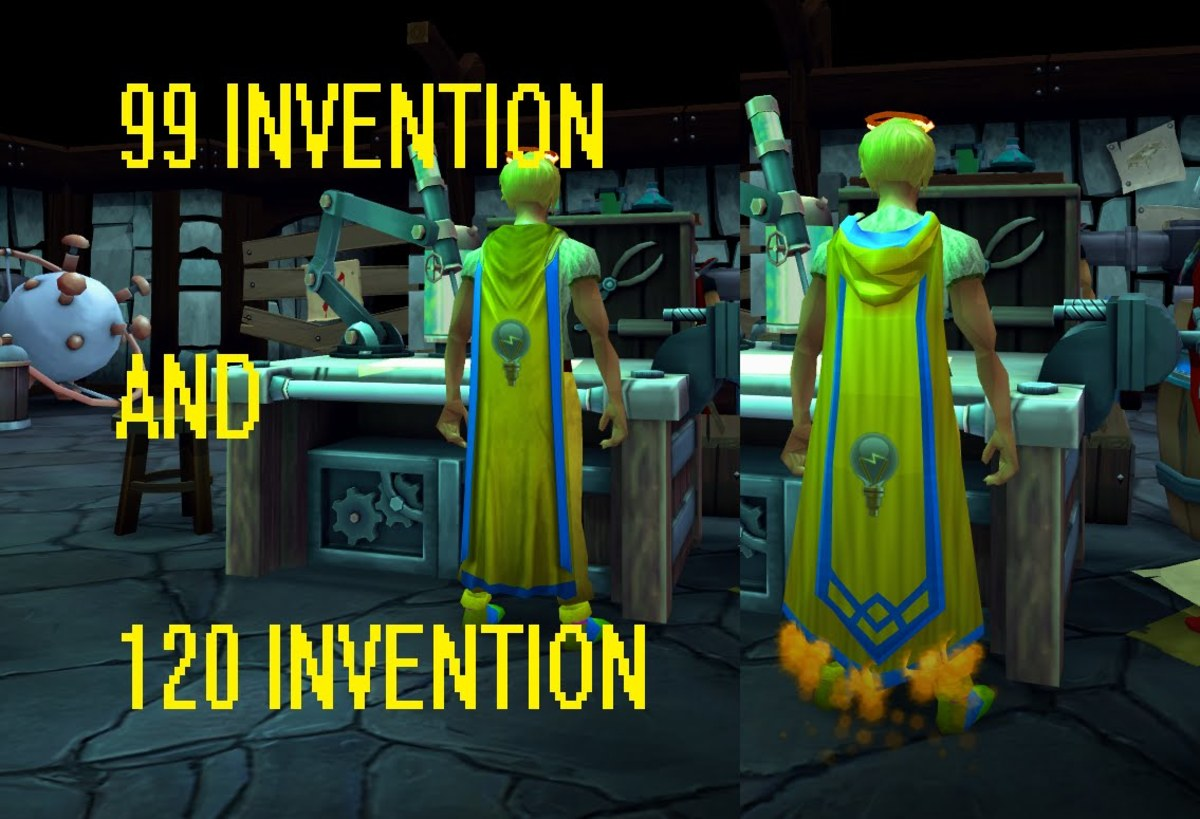 Runescape 3: 1-99/120 P2P Invention Training Guide: What to Disassemble for Parts, Fishvention, and Augmenting Tutorial