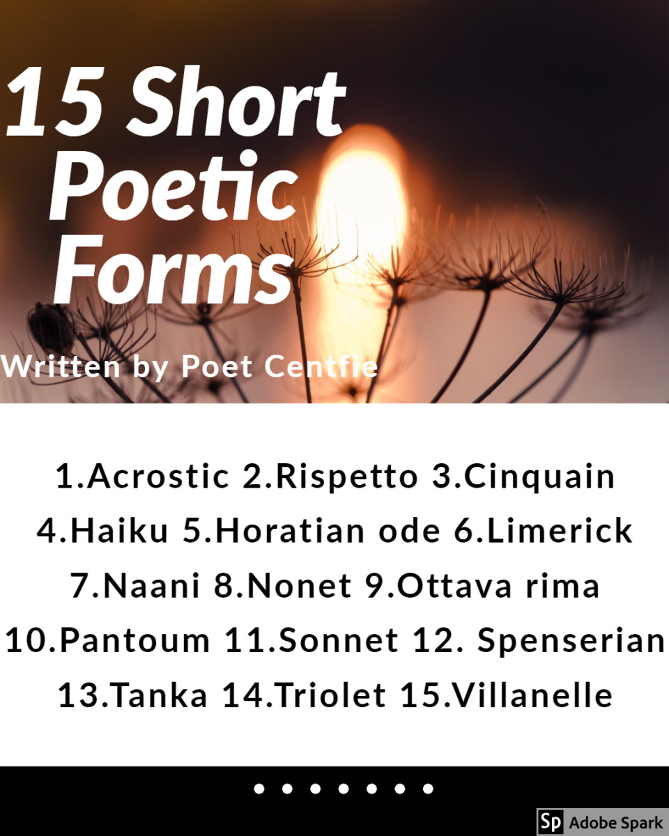 15 Types of Short Poetic Forms With Examples