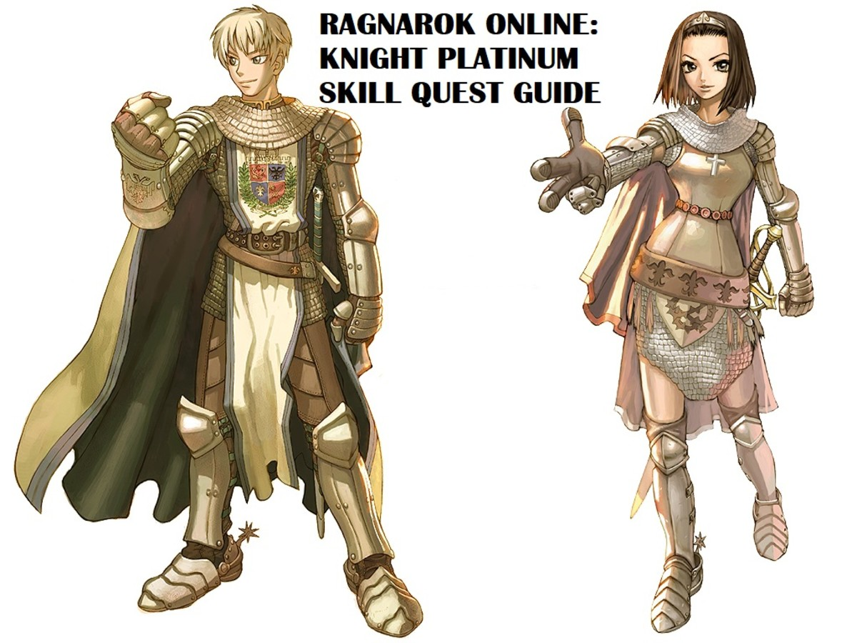 Ragnarok Online Knight Platinum Skill Quest Guide