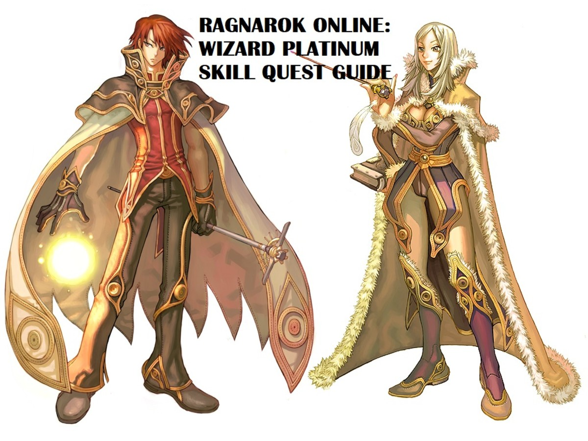 Ragnarok Online Wizard Platinum Skill Quest Guide