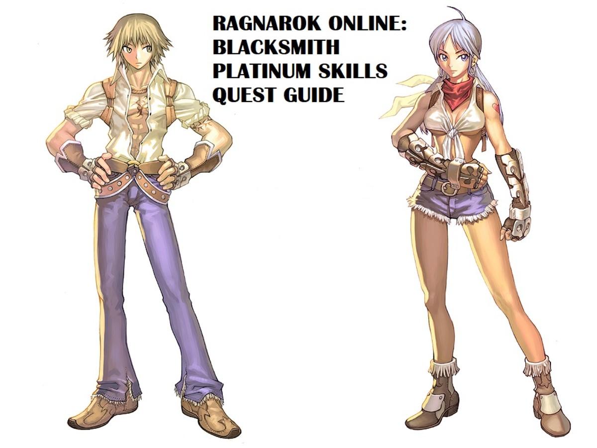 Ragnarok Online: Blacksmith Platinum Skills Quest Guide