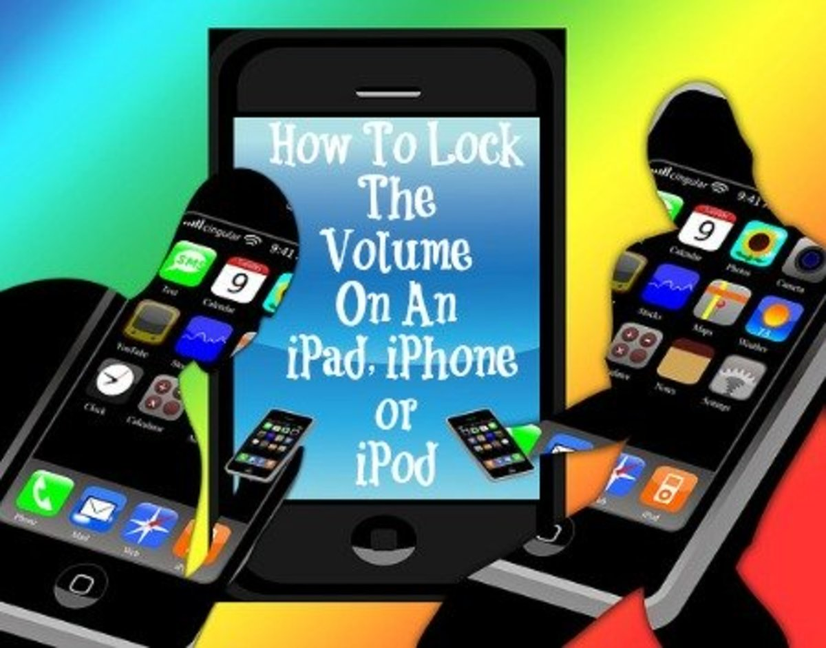 How Can I Lock The Volume On An iPad, iPhone or iPod