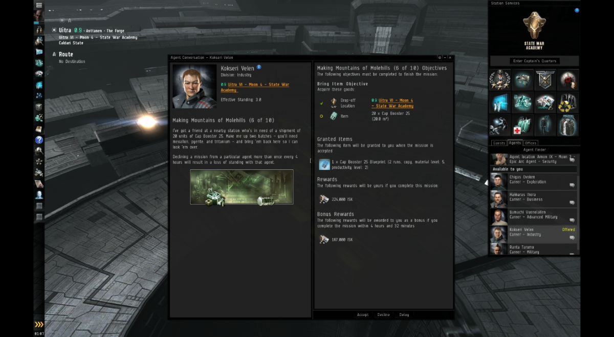 Making Mountains of Molehills (6 of 10) - Eve Online Mission Guide