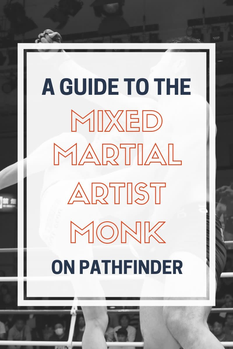 Though they are generally less versatile than other monks, martial artists allow for character concepts, such as a chaotic wandering monk, that may not fit well with the standard monk.