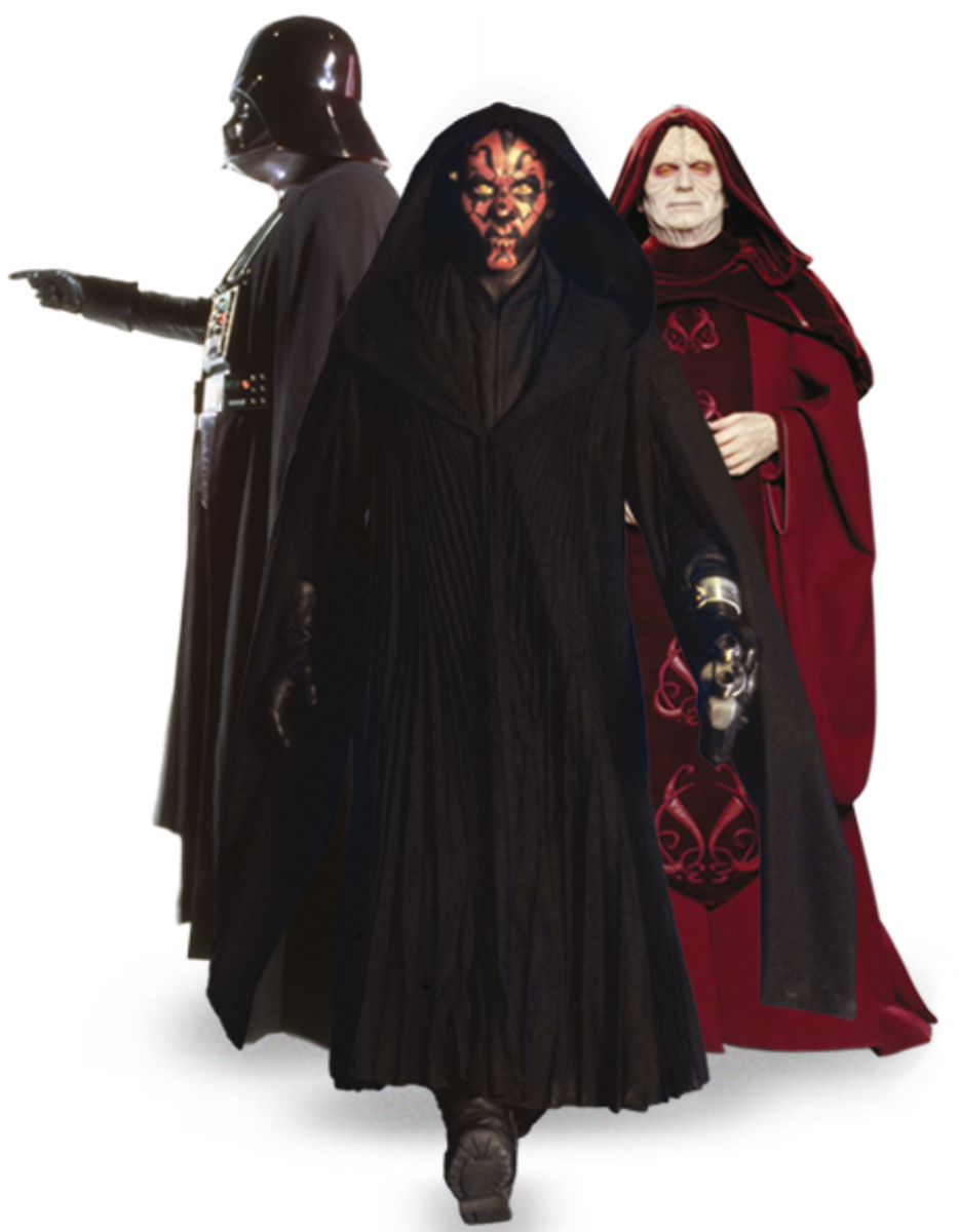 How to Dress as a Sith for Cheap
