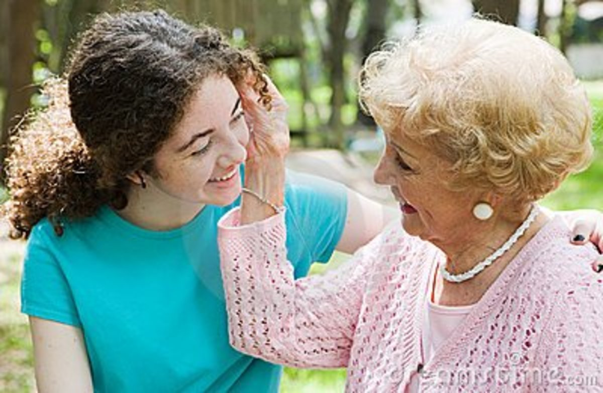 God's most precious work of Art is the warmth and love of a Grandmother's Heart.