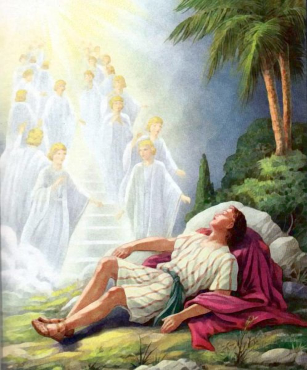Jacob's heavenly dream, Genesis 28:10-19