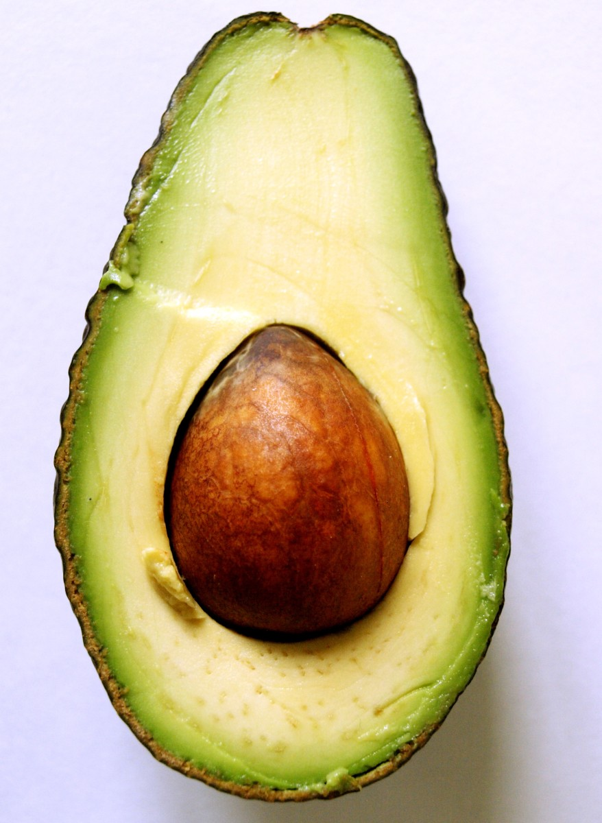 A avocado hair mask can be nourishing for dry hair.