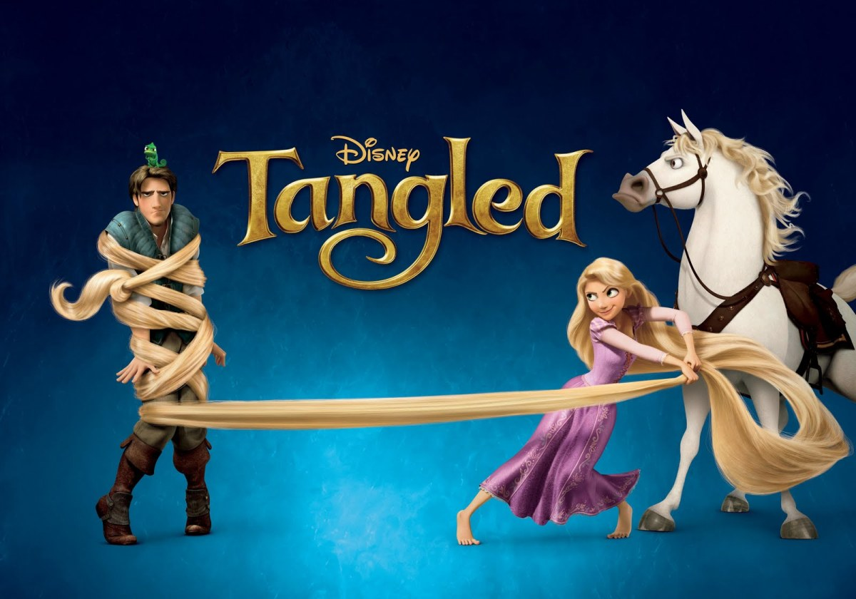 What You Didn't See: Hidden Disney Images - Tangled