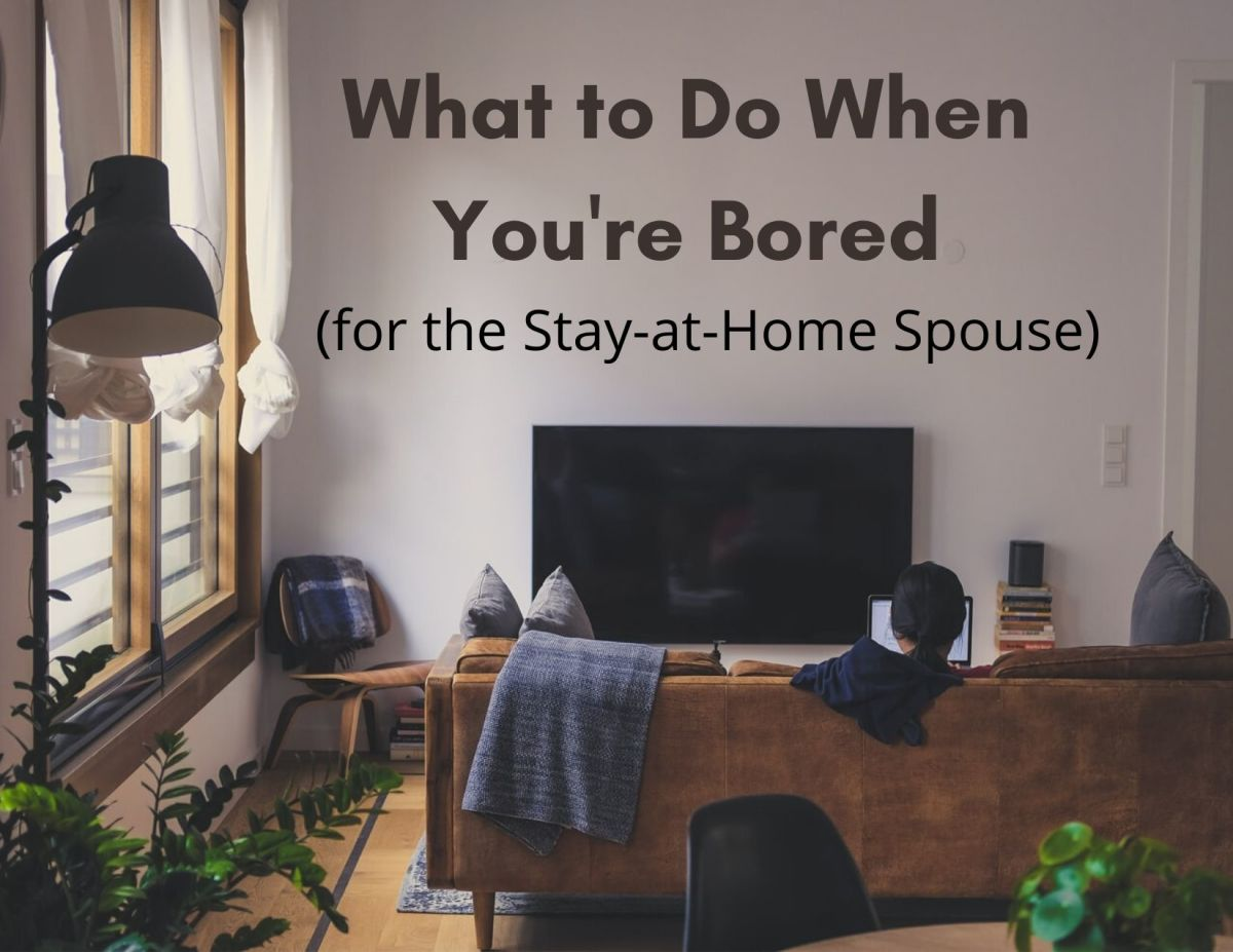How to Fight Boredom (for the Housewife With No Kids)