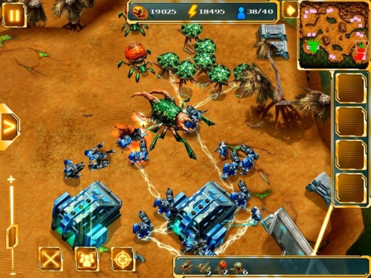 6 Games Like Starcraft/Starcraft 2