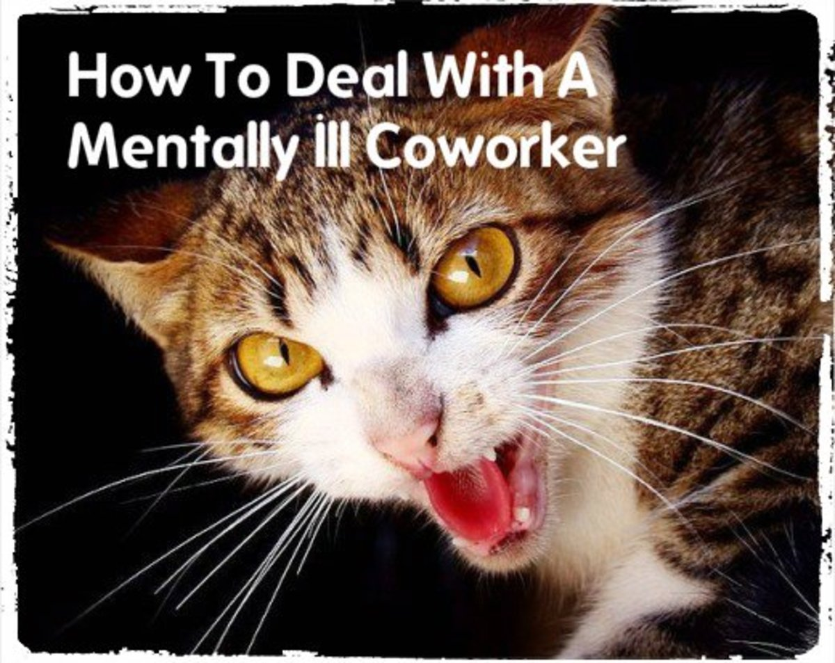 How to Deal With a Mentally Ill Coworker