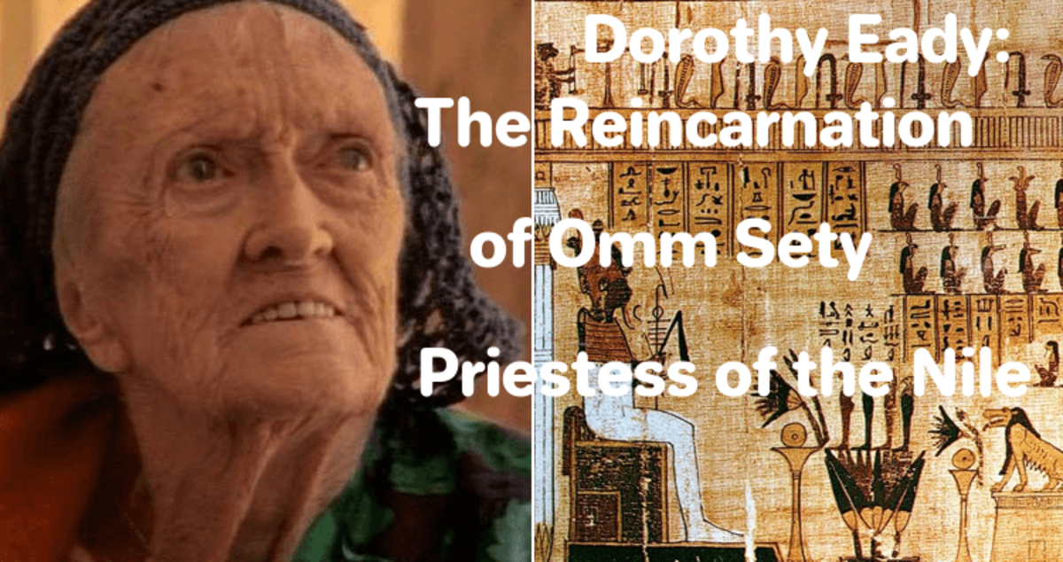 #Ommsety #Reincarnation #DorothyEady