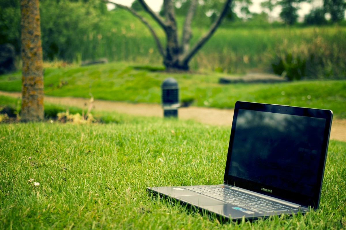 Keep your mind engaged by moving your work station outside every once in a while. It will improve your mood and boost your creativity while you search for more writing jobs.